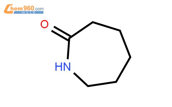 己內酰胺結構式圖片|105-60-2結構式圖片