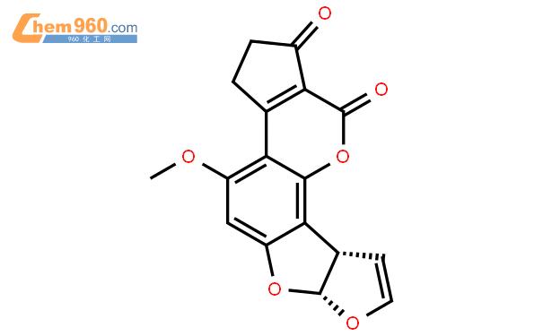 黄曲霉毒素 B1结构式图片|1162-65-8结构式图片