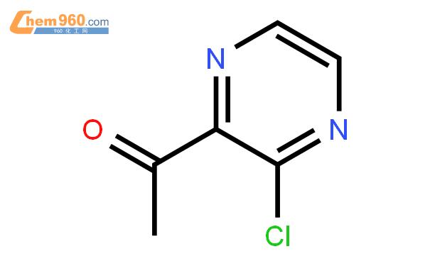 1-(3-氯吡嗪-2-基)乙酮結構式圖片|121246-90-0結構式圖片