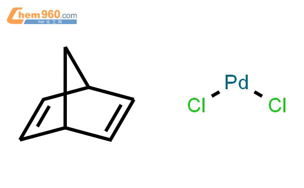 二氯(降冰片二烯)钯结构式图片|12317-46-3结构式图片