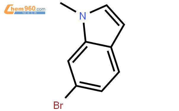 6-溴-1-甲基吲哚结构式图片|125872-95-9结构式图片