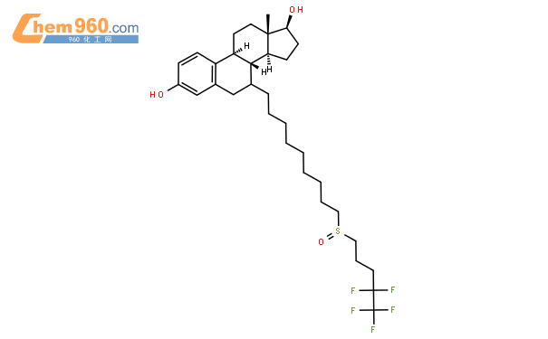 氟维司群结构式图片 129453-61-8结构式图片