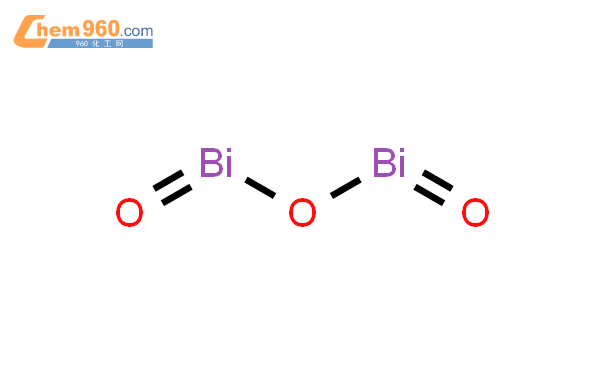 氧化铋结构式图片|1304-76-3结构式图片