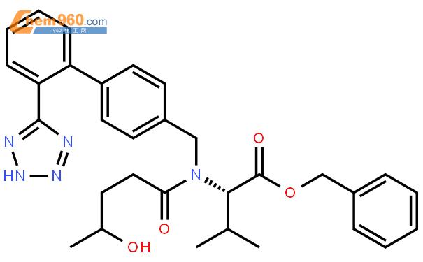 4-羟基缬沙坦苄酯结构式图片 1356929-45-7结构式图片