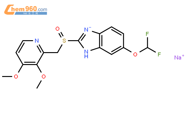 泮托拉唑钠结构式图片|138786-67-1结构式图片