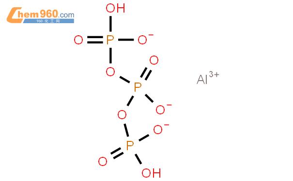 三聚磷酸铝结构式图片 13939-25-8结构式图片