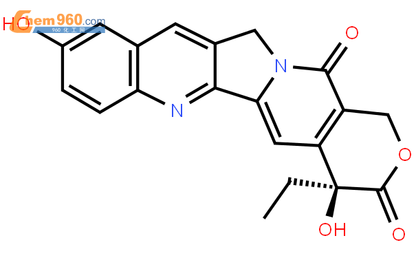 10-羟基喜树碱结构式图片|19685-09-7结构式图片