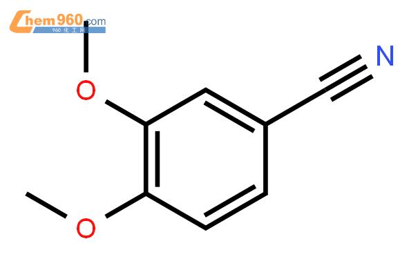 3,4-二甲氧基苯甲腈結構式圖片|2024-83-1結構式圖片