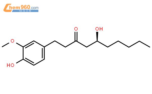 6-姜酚结构式图片|23513-14-6结构式图片