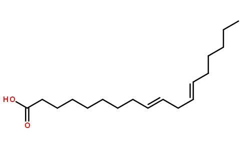 亚油酸结构式图片|60-33-3结构式图片