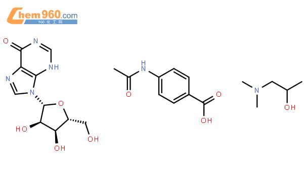 异丙肌苷结构式图片|36703-88-5结构式图片