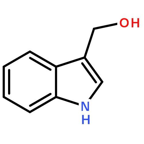 3-吲哚甲醇结构式图片|700-06-1结构式图片