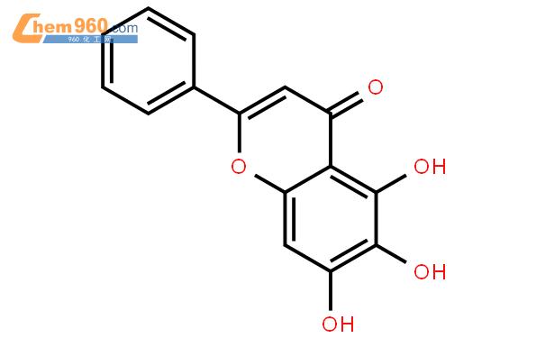 黃芩素結構式圖片|491-67-8結構式圖片
