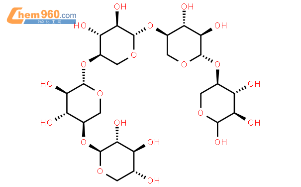 木五糖结构式图片|49694-20-4结构式图片