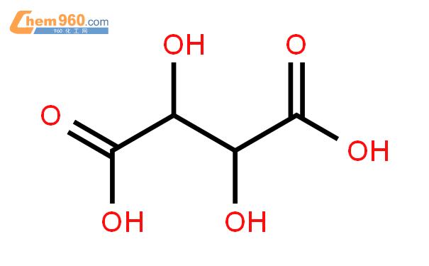 酒石酸結構式圖片|526-83-0結構式圖片