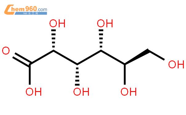 葡萄糖酸結構式圖片|526-95-4結構式圖片
