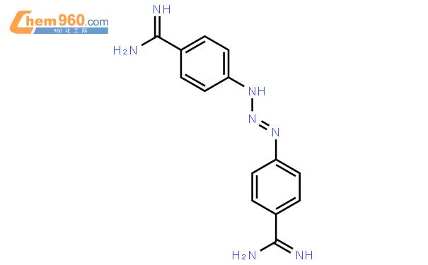 三氮脒结构式图片|536-71-0结构式图片