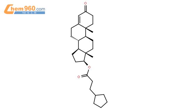 環戊丙酸睪酮結構式圖片|58-20-8結構式圖片