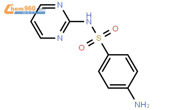 磺胺嘧啶结构式图片|68-35-9结构式图片