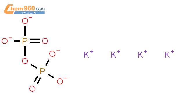 焦磷酸钾结构式图片|7320-34-5结构式图片