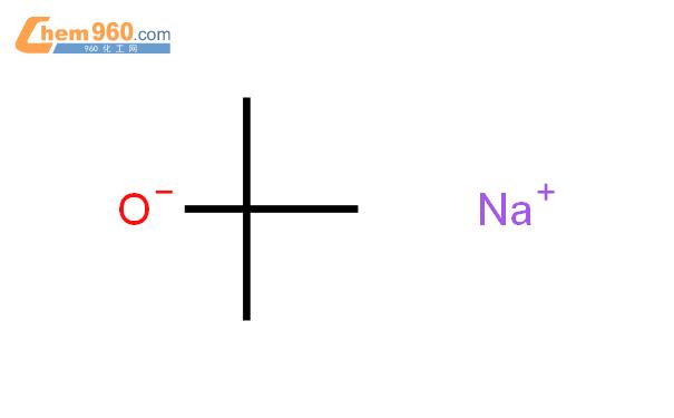 叔丁醇鈉結構式圖片|865-48-5結構式圖片