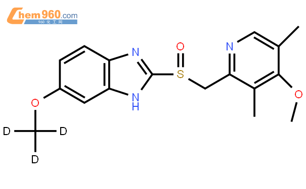 奥美拉唑-D3结构式图片|922731-01-9结构式图片