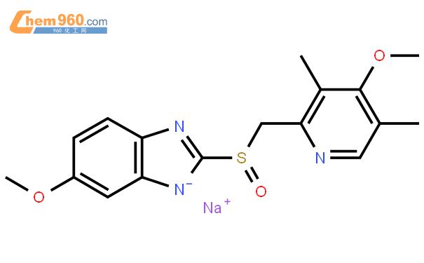 奥美拉唑钠结构式图片|95510-70-6结构式图片