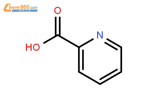 2-吡啶甲酸結構式圖片|98-98-6結構式圖片