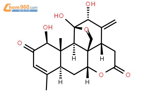 臭椿酮结构式图片|981-15-7结构式图片