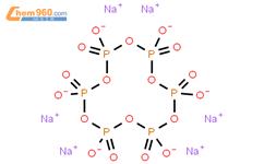 六偏磷酸钠结构式图片|10124-56-8结构式图片