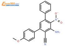 2-苯基-4-甲基-6-(p-氨基氧基-硝基)-3-图片苯甲腈结构式苯基|1119522位衣布(毛圈布)图片