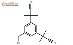 5-溴甲基-a,a,a',a'-四甲基-1,3-二乙氰基苯