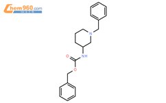 benzyl N-[(3R)-1-benzylpiperidin-3-yl]carbamate