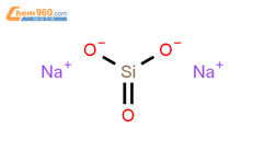 硅酸钠结构式图片|1344-09-8结构式图片