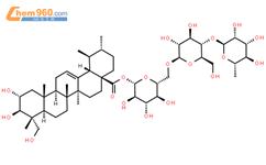 积雪草苷结构式图片|16830-15-2结构式图片