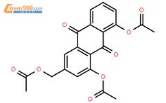 三乙酰基蘆薈大黃素標準品