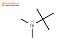 叔丁基二甲基硅烷结构式图片|29681-57-0结构式图片