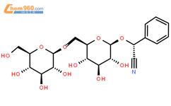 苦杏仁苷结构式图片 29883-15-6结构式图片