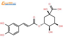 绿原酸结构式图片|327-97-9结构式图片
