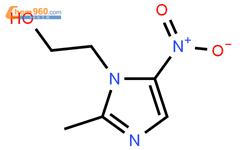 甲硝唑結構式圖片|443-48-1結構式圖片