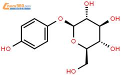 熊果苷結構式圖片|497-76-7結構式圖片