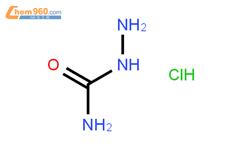 鹽酸氨基脲結構式圖片|563-41-7結構式圖片