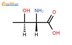 苏氨酸结构式图片|72-19-5结构式图片