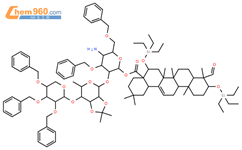 茶皂素結構式圖片|8047-15-2結構式圖片