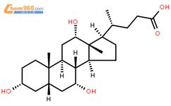 胆酸结构式图片|81-25-4结构式图片