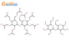 羟丙基甲基纤维素结构式图片|9004-65-3结构式图片
