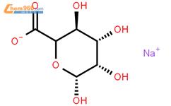 海藻酸钠结构式图片|9005-38-3结构式图片