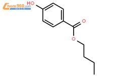 對羥基苯甲酸丁酯結構式圖片|94-26-8結構式圖片