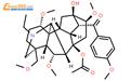 草乌甲素,来源于草乌结构式图片|107668-79-1结构式图片