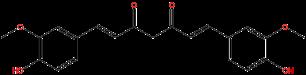 姜黄素结构式图片|458-37-7结构式图片